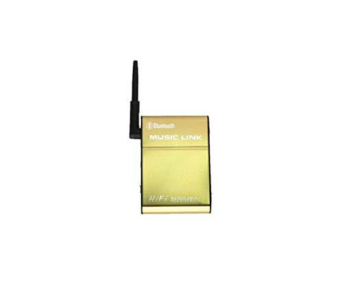 QHY Audio, Tragbarer Mini-Bluetooth-Funklautsprecher, Bluetooth 4.0-Übertragungsdistanz Von Bis Zu 20 Metern, Ununterbrochene Wiedergabe 20 Stunden Musik,Golden,A