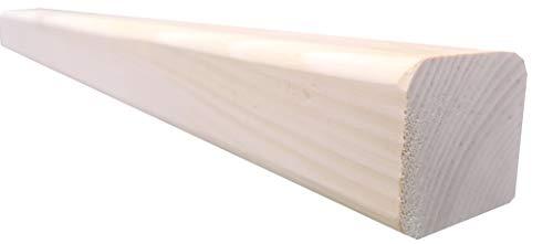 rc-holzgestaltung Zirbenbrett Rahmenholz 50-200 4,5 x 4,5 cm Zirbenholz Zirbenbett Kantholz Zirbe (50 x 4,5 x4,5 cm, Zirbe)