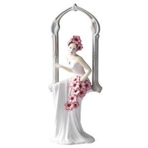Royal Doulton figura Prestige primavera flores hn5198. Neuf y en una caja