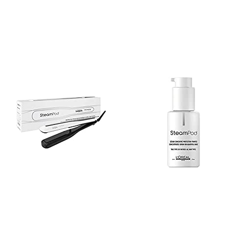 L\'Oréal Professionnel SteamPod Styler 3.0 | Dampfglätteisen - Pflegeroutine für jeden Haartyp