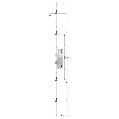 Format 4015501095529–tñrschloss AS 8092Stulp hell verz. 2170mm