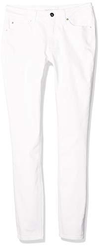 Calvin Klein Ckj 011 Mid Rise Skinny Vaqueros, Blanco (Da094 White 1cd), 27W / 30L para Mujer