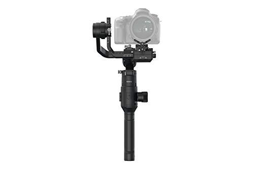 DJI Ronin-S - 3-Achsen-Kardanstabilisator für digitale Spiegelreflexkameras, All-in-One-Steuerung, Bild- und Videostabilisator, 12-Stunden-Autonomie, maximale Betriebsgeschwindigkeit 75 km / h