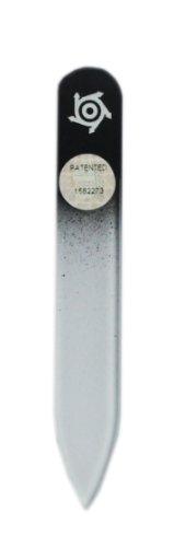 Pfeilring Glasnagelfeile, 8cm, schwarz