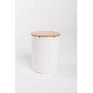 HOME: Mid Stoneware Jar with Bamboo Lid – Piper & Scoot