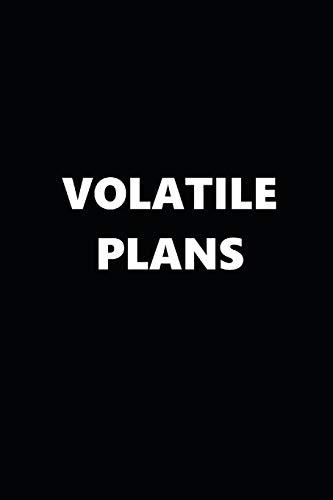 2019 Daily Planner Funny Temper Volatile Plans Black White...