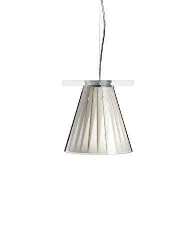 Kartell Light-Air, Lampe de Suspension, Cristal Beige