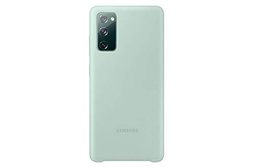 Samsung Silicone Smartphone Cover EF-PG780 für Galaxy S20 FE Handy-Hülle, Silikon, Schutz Hülle, stoßfest, dünn & griffig, Grün - 6.5 Zoll