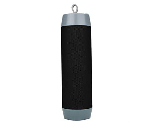 Bluetooth luidspreker, draadloos, mini-stereo, kan met de luidspreker van elke mobiele telefoon worden gebruikt. Je kunt hem ook gebruiken om foto's te maken, zwart.