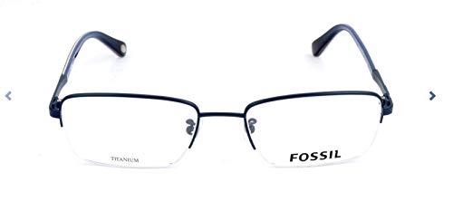 Fossil Brillengestelle FOS 6073/F Rechteckig Brillengestelle 55, Mehrfarbig