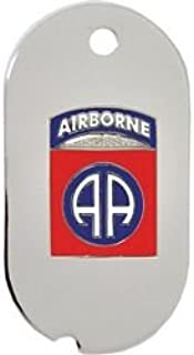 US Army 82nd Airborne Dog Tag 24