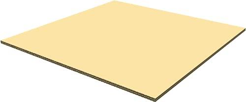 2層強化ダンボール板 (10�o厚) 板パット600x600 16枚