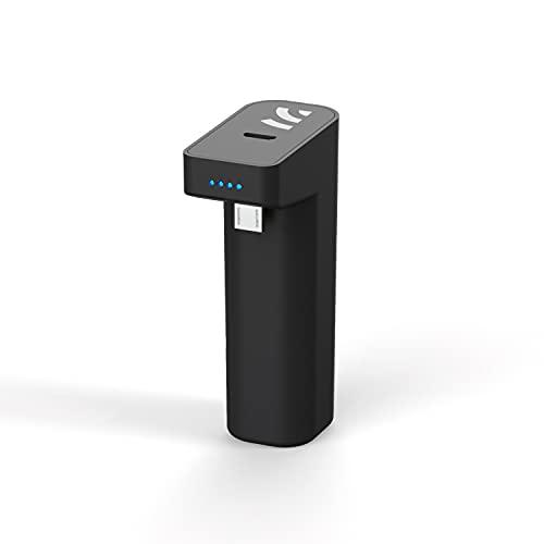 Remotto Battery para PS4, Cargador Inalámbrico para Mando PS4, Juega Mientras Cargas