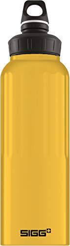 Sigg Unisex– Erwachsene Wmb Traveller Mustard Touch Wasserflaschen, Gelb, 1.5