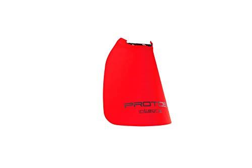 Protos einclipsbarer Nackenschutz für Schutzhelm, Farbe:rot