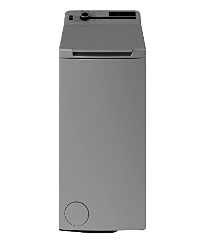 Bauknecht WMT Silver 7 BD N Toplader-Waschmaschine / 7 kg / 1152 UpM/Hygiene+Programm/ Kurz30\' / 15° Green&Clean/Startzeitvorwahl/SoftOpening/Vollwasserschutz