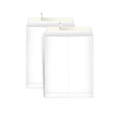 Amazon Basics Catalog Mailing Envelopes  Peel & Seal  9x12 Inch  100-Pack  White