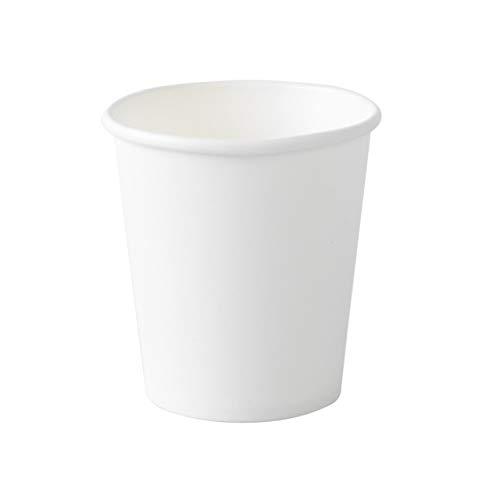 ECO BRO Vasos De Papel Biodegradables Compostables Ecológicos 200 ml Desechables para Agua Bebidas Calientes y fría (200)