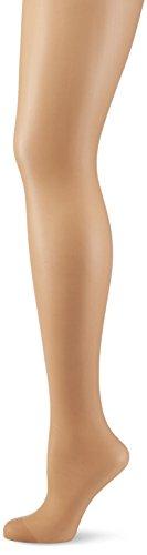 Hudson Damen Matt Fein Hüftstrumpfhose, 001236 Hip 20, Gr. 40/42, Beige (Make-Up 0019)