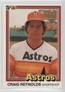 Craig Reynolds (Baseball Card) 1981 Donruss - [Base] #378