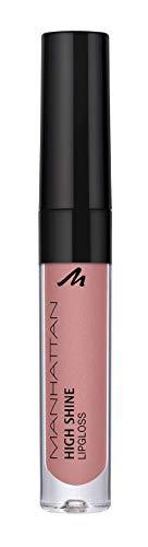 Manhattan High Shine Lipgloss, Glänzender Lipgloss für ein intensiv schimmerndes Finish auf den Lippen, In der Farbe 280