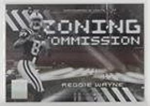 Reggie Wayne #/500 (Football Card) 2006 Donruss Elite - Zoning Commission - Black #ZC-21