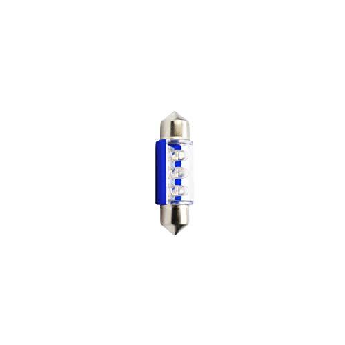 Planet Line PL023B Ampoules LED Navette C5W 12V, Bleu, Set de 2
