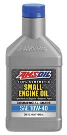 Amsoil 10W-40 Small Engine Synthetic Motor Oil (1...