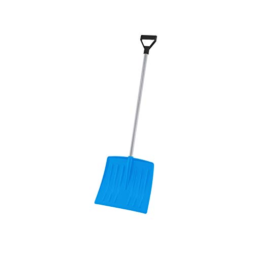 Learn More About Superio Kid Snow Shovel with Metal Handle, Kids Size Light Blue Durable Shovel for ...