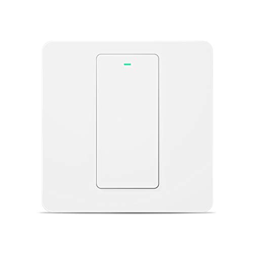Interruptor táctil de pared Wi-Fi 1 way 1 gang, con pantalla táctil,