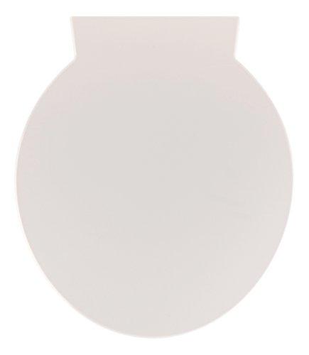 Sanitop-Wingenroth - 56871 5 - WC-Sitz in Weiß - Passend zur Keramik Serie naU - Hochwertiger Toilettensitz aus Duroplast & Edelstahl-Scharnier