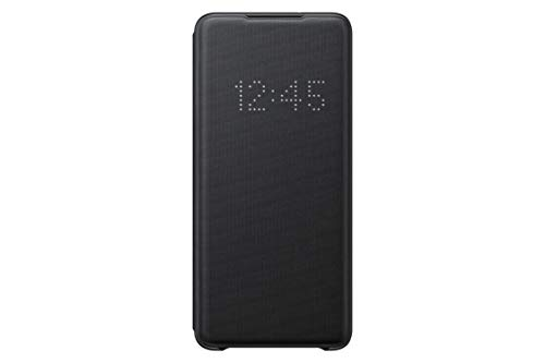 Samsung - Funda LED View para Galaxy S20+, Negro