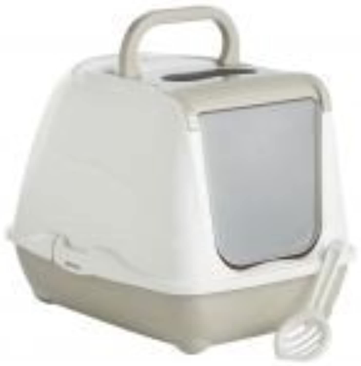 Hooded Cat Toilet (20 Inch) (May Vary)