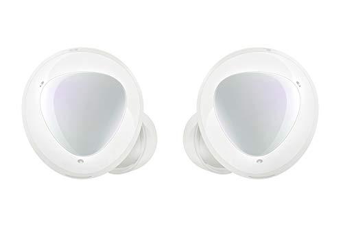 Samsung Galaxy Buds+, kabellose In-Ear Kopfhörer mit Zwei-Wege-Lautsprechersystem, Bluetooth, Sound by AKG, drei Mikrofonen, QI-kompatibel, Weiß