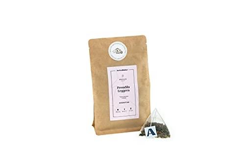 Tisana Digestiva e Sgonfiante, con Menta e Petali di Rosa, Lenitiva, Digestiva e Rilassante, disponibile in 20 comodi Filtri Monouso, Elegante Confezione Regalo (Set da 2)