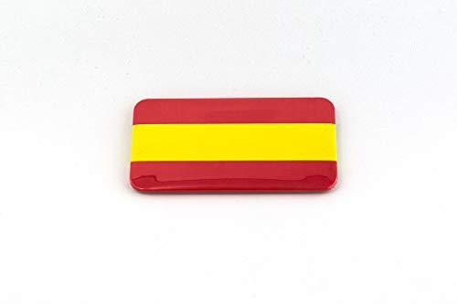 Chapas con la bandera española con imán en la parte trasera | Chapa imantada de nevera | Regalo original. | Bandera de España. Pack de 2 unidades.