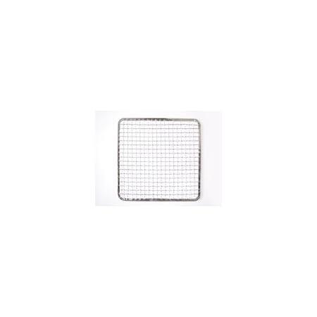使い捨て焼き網 角網 正方形型20枚 300角mm☆鉄(亜鉛メッキ)中国産 焼肉用使い捨て焼網 網洗いの手間が省けます
