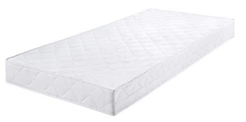 Badenia Bettcomfort Tonnentaschenfederkernmatratze, Polyester, weiß, 90 x 200 cm
