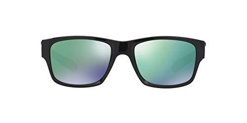 Óculos de sol quadrados Jupiter – masculino da Oakley, Pol, preto/jade, írid, 0000