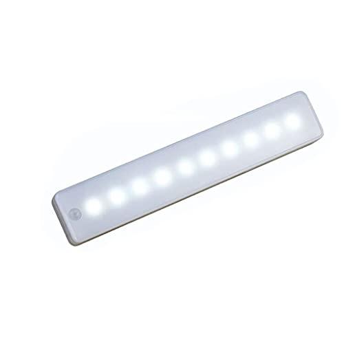 Luz de armario Armario LED Luz Inalámbrica Palo en Cualquier Lugar la Noche Del Sensor de Movimiento de la Barra Ligera del Sensor de Movimiento PIR Noche de la Lámpara Con Pilas