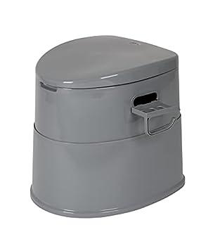 Bo-Camp Toilette Portable Unisexe 7 l Gris Taille Unique