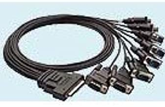 MOXA CBL-M68M9x8-100 - SCSI VHDCI 68 Male to 8-Port DB9 Male Connection Cable 100cm