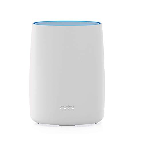Netgear Orbi LBR20 4G LTE Router & Mesh WLAN Router (Homespot bis 125 m² Abdeckung, Router mit 4G LTE+ Modem Cat18 - zum Orbi AC2200 WLAN-Mesh-System erweiterbar, für jede SIM-Karte freigeschaltet)