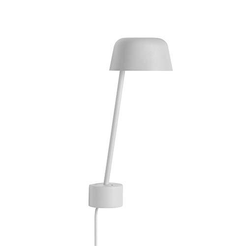 Muuto Lean Wall Lamp Grey [W]