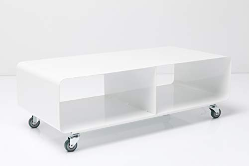 Design Delights Kare 70441 Meuble TV Mobile Lounge M 30 x 90 x 42 cm (Blanc)