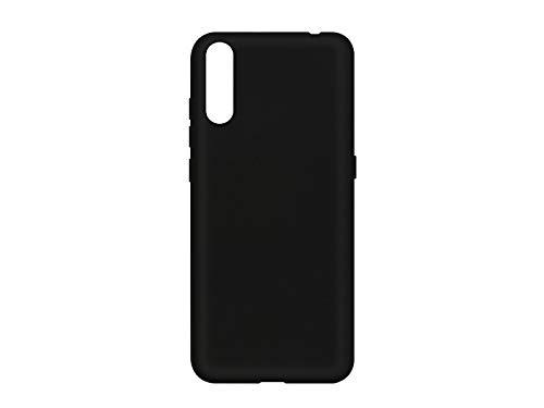 etuo Hülle für Wiko View 4 Lite - Hülle Soft Flex - Schwarz Handyhülle Schutzhülle Etui Hülle Cover Tasche für Handy