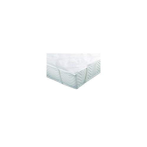 Alpes Blanc Colchón (Esponja Rizo, Impermeable, cubrecolchón Forma Bandeja–Dimensiones–140x 190