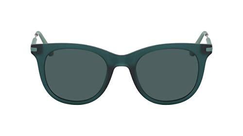 Calvin Klein Jeans Ckj19701s Occhiali da Sole, Verde, One Size Donna