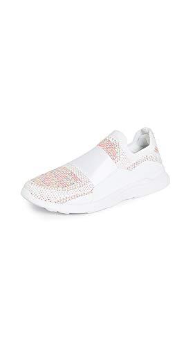 APL: Athletic Propulsion Labs Women's Techloom Bliss Sneakers, White/Multi/White, 10.5 Medium US