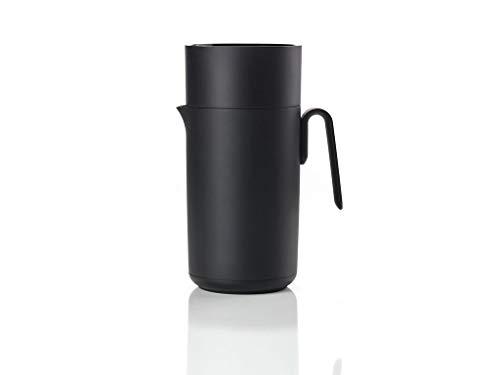 Zone Denmark, Singles Thermoskanne/Isolierkanne, Kunststoff und Glas, 1 Liter, schwarz